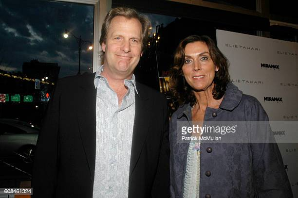 Jeff Daniels and Kathleen Treado attend ELIE TAHARI Hosts a Screening of Miramax Films' THE LOOKOUT at Tribeca Cinemas on March 26 2007 in New York...