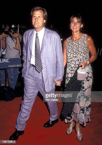 Jeff Daniels and Kathleen Treado during Screening of Fly Away Home September 10 1996 at Sony 19th Street Theater in New York City New York United...