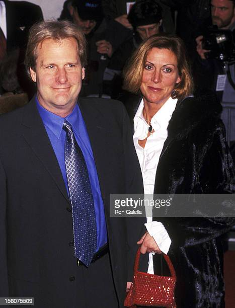 Jeff Daniels and Kathleen Treado during 'The Hours' New York City Premiere Arrivals at The Paris Theater in New York City New York United States