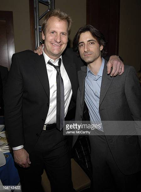 Jeff Daniels and Noah Baumbach during IFP's 15th Annual Gotham Awards Inside at Pier 60 at Chelsea Piers in New York City New York United States