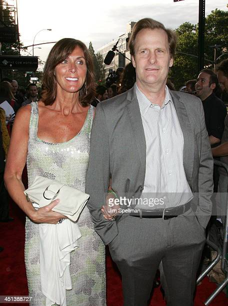 Jeff Daniels and wife attends a screening of Away We Go at Landmark's Sunshine Cinema on June 1 2009 in New York City