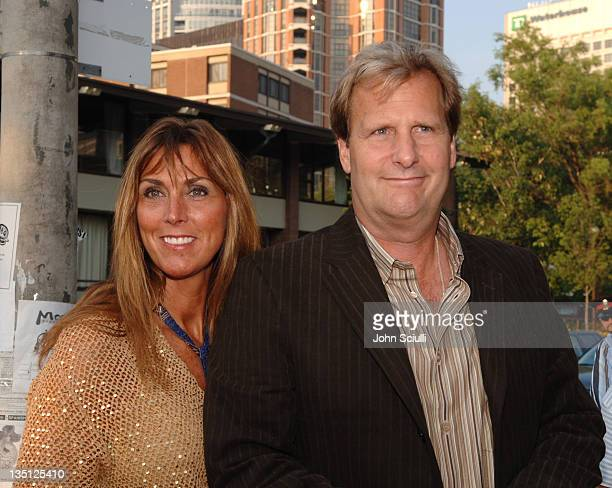 Jeff Daniels and wife during 2005 Toronto Film Festival The Squid and the Whale Premiere at Isabel Bader Theatre in Toronto Canada