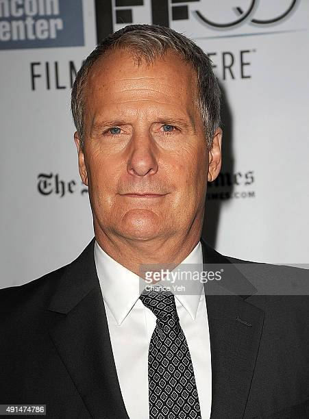 Jeff Daniels attend the 53rd New York Film Festival Steve Jobs screening at Alice Tully Hall on October 3 2015 in New York City
