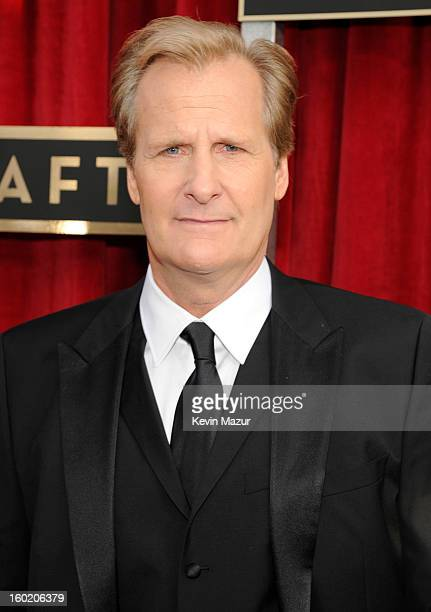 Jeff Daniels attends the 19th Annual Screen Actors Guild Awards at The Shrine Auditorium on January 27 2013 in Los Angeles California...