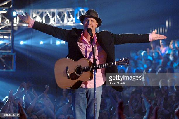 Jeff Daniels performing Nominee Medley during 2005 CMT Music Awards Show at Gaylord Entertainment Center in Nashville Tennessee United States