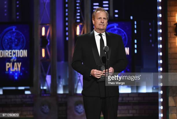 Jeff Daniels presents an award onstage during the 72nd Annual Tony Awards at Radio City Music Hall on June 10 2018 in New York City