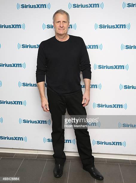 Jeff Daniels visits at SiriusXM Studios on October 20, 2015 in New York City.
