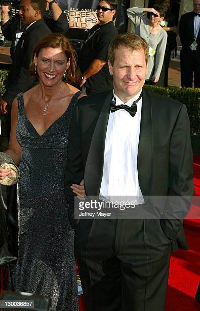 Jeff Daniels wife during 9th Annual Screen Actors Guild Awards Arrivals at Shrine Exposition Center in Los Angeles California United States