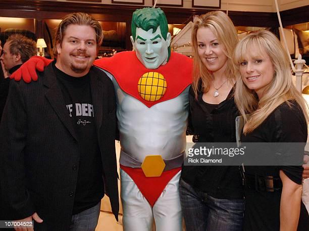 Jeff Dauler Captain Planet Jessica Dauler and Ginair McKerrow