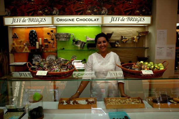 Jeff de Bruges chocolates.