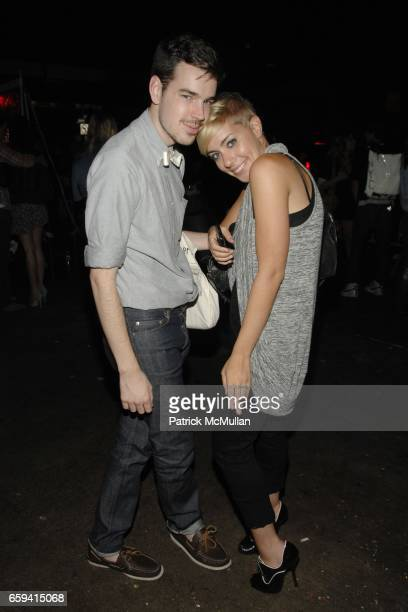 Jeff Dorsman and Amanda Leigh Dunn attend ALEXANDER WANG After Party at The Gas Station at Milk Studios on September 12 2009 in New York City