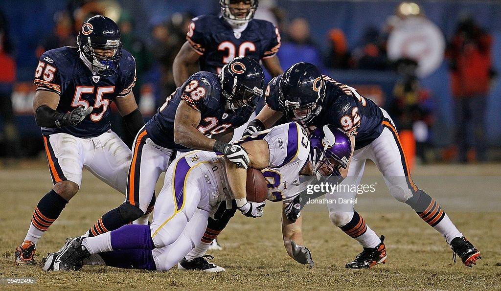 IL: Minnesota Vikings v Chicago Bears : News Photo
