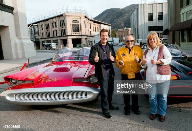 Jeff Dunham Cassandra SalapatasMetz and George Barris attend the Warner Bros VIP Tour 'Meet The Family' Speaker Series Cars For Movie/TV at Warner...