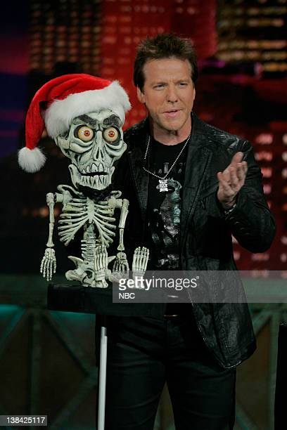 LENO Jeff Dunham Episode 3685 Air Date Pictured Ventriloquist Jeff Dunham with puppet Achmed the Dead Terrorist during a performance on January 7 2009