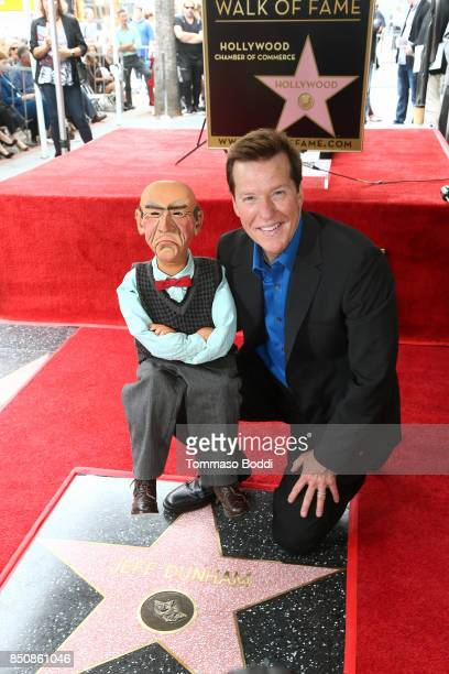 Jeff Dunham Honored With Star On The Hollywood Walk Of Fame on September 21 2017 in Hollywood California