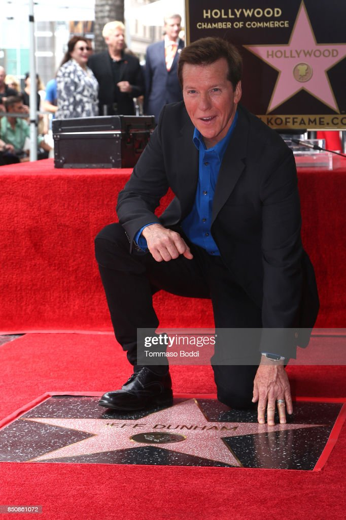 Jeff Dunham Honored With Star On The Hollywood Walk Of Fame on September 21, 2017 in Hollywood, California.