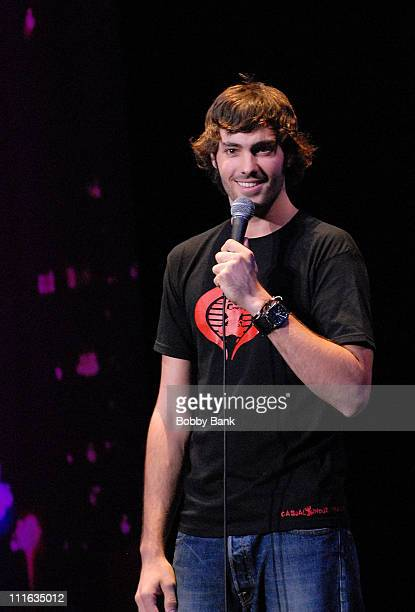 Jeff Dye performs with the Last Comic Standing Live Tour at State Theatre on September 17, 2008 in New Brunswick, New Jersey.