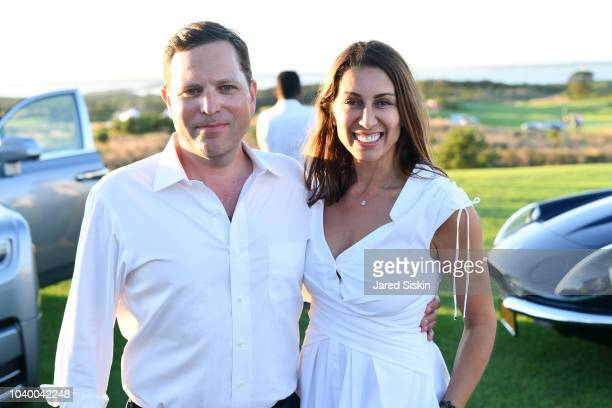 Jeff Einhorn and Shamin Abas attend The Bridge 2018 at The Bridge on September 15, 2018 in Bridgehampton, NY.