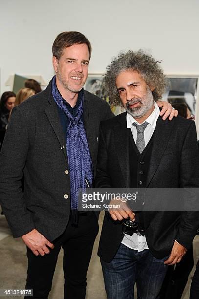Jeff Ellermeyer and Ron Handler attend The Rema Hort Mann Foundation LA Artist Initiative Benefit Auction on November 21 2013 in Los Angeles...