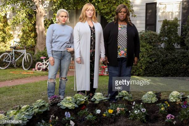 "Jeff"" Episode 212 -- Pictured: Mae Whitman as Annie Marks, Christina Hendricks as Beth Boland, Retta as Ruby Hill --"