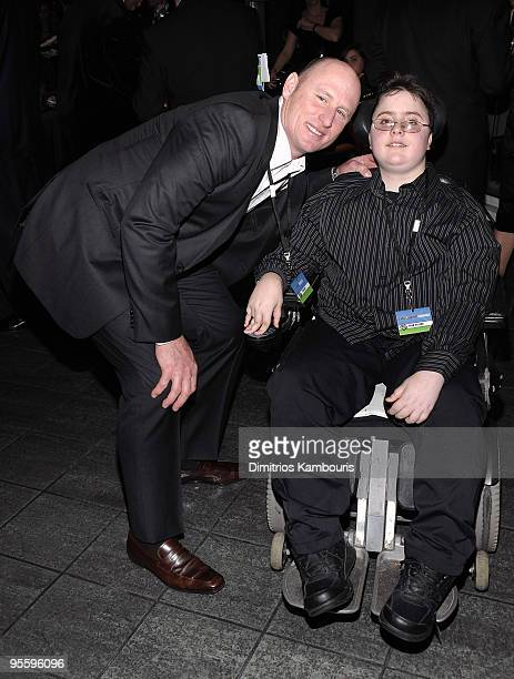Jeff Feagles attends the Muscular Dystrophy Association�s 2010 Muscle Team gala & benefit auction at Pier Sixty at Chelsea Piers on January 5, 2010...