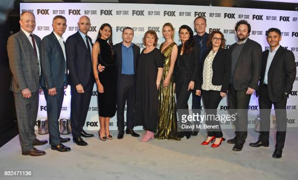 Jeff Ford SVP of Content Development FNG Europe Africa Showrunner/CoCreator Matthew Parkhill cast members Mark Strong Karima McAdams Joe Dempsie...