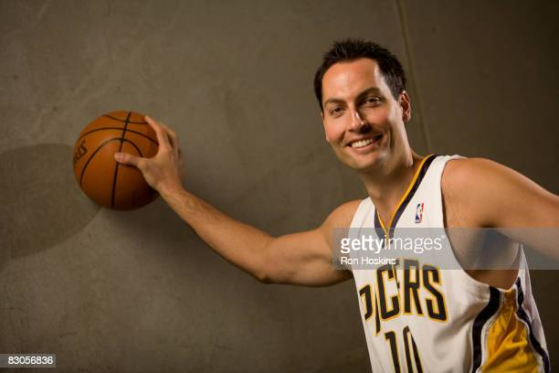Jeff Foster of the Indiana Pacers poses for a portrait during NBA Media Day on September 29, 2008 at Conseco Fieldhouse in Indianapolis, Indiana....