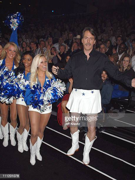 Jeff Foxworthy and the Dallas Cowboy Cheerleaders *EXCLUSIVE*