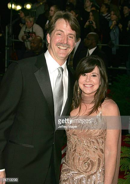 Jeff Foxworthy and wife at the Pasadena Civic Auditorium in Pasadena California