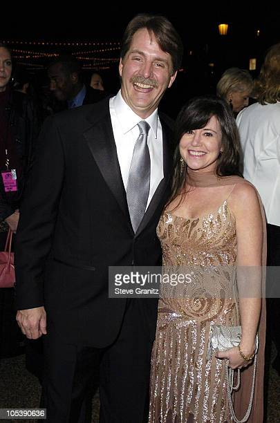 Jeff Foxworthy and wife during 31st Annual People's Choice Awards Arrivals at Pasadena Civic Auditorium in Pasadena California United States