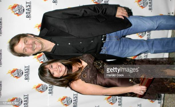 Jeff Foxworthy and wife Gregg Foxworthy during Comedy Central To Roast Jeff Foxworthy at The Hammerstein Ballroom in New York New York United States