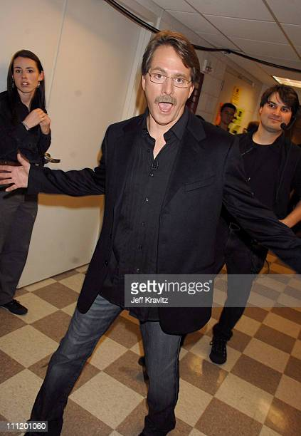 Jeff Foxworthy during 2007 CMT Music Awards Backstage and Audience at The Curb Event Center at Belmont University in Nashville Tennessee United States