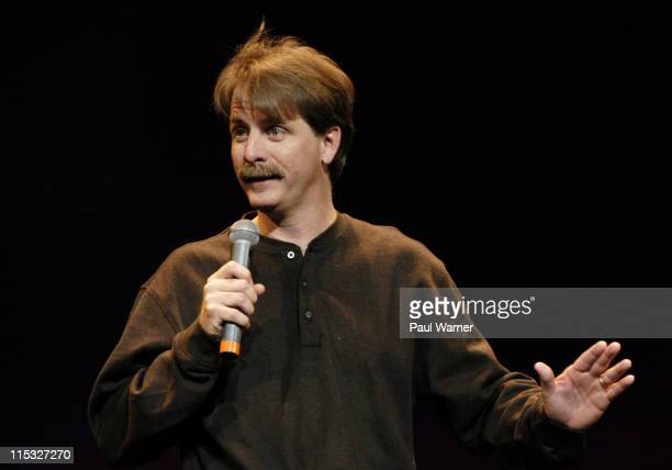 Jeff Foxworthy during Comedians Jeff Foxworthy and James Johann at the Fox Theater in Detroit at Fox Theater in Detroit Michigan United States