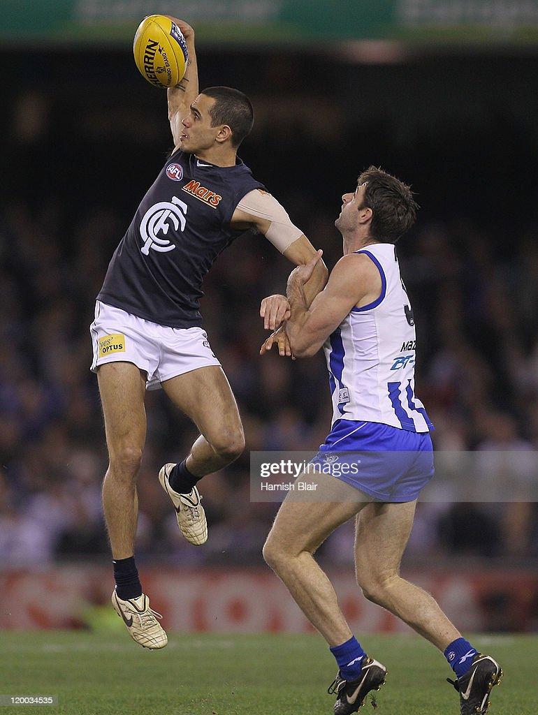 AFL Rd 19 - North Melbourne v Carlton