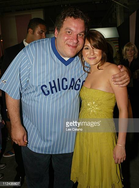 Jeff Garlin and Alexa Vega during Sleepover World Premiere After Party at ArcLight Cinerama Dome in Hollywood California United States