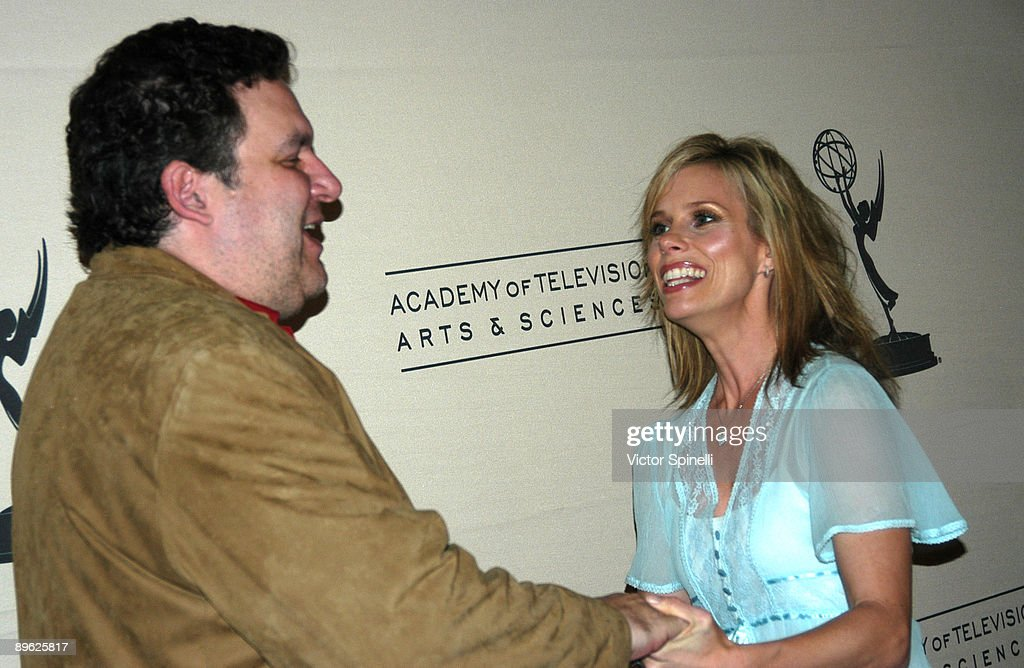 Jeff Garlin and Cheryl Hines