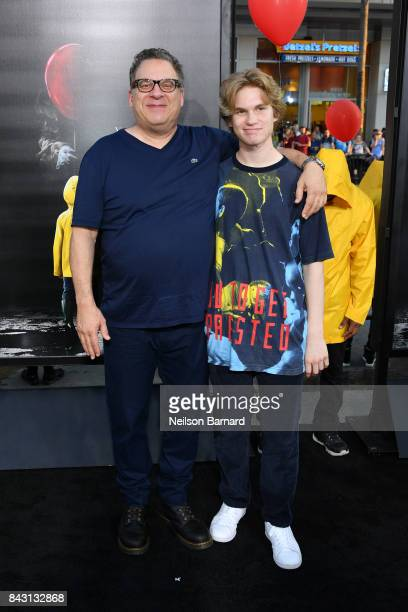 Jeff Garlin and Duke Garlin attend the premiere of Warner Bros Pictures and New Line Cinema's It at the TCL Chinese Theatre on September 5 2017 in...