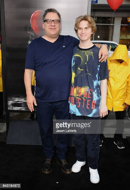 Jeff Garlin and son Duke Garlin attend the premiere of It at TCL Chinese Theatre on September 5 2017 in Hollywood California