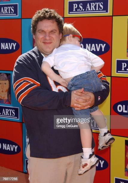 Jeff Garlin and son Duke