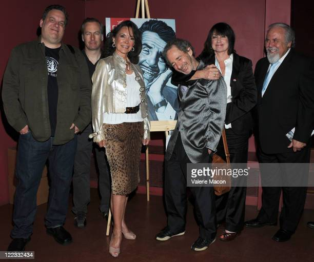 Jeff Garlin Bob Odenkirk Jolene Brand Harry Shearer Merrill Markoe and George Schlatter attend The American Cinematheque Presents In Kovacsland A...
