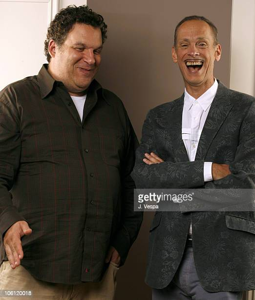 Jeff Garlin director and John Waters during 31st Annual Toronto International Film Festival This Filthy World Portraits at Portrait Studio in Toronto...