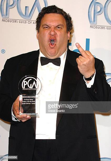 Jeff Garlin during 16th Annual Producers Guild Awards - Press Room at Culver Studios in Culver City, California, United States.