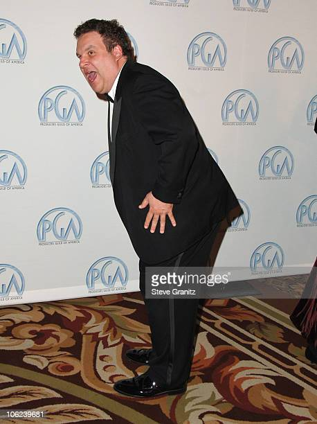 Jeff Garlin during 2007 Producers Guild Awards Arrivals at Century Plaza Hotel in Century City California United States