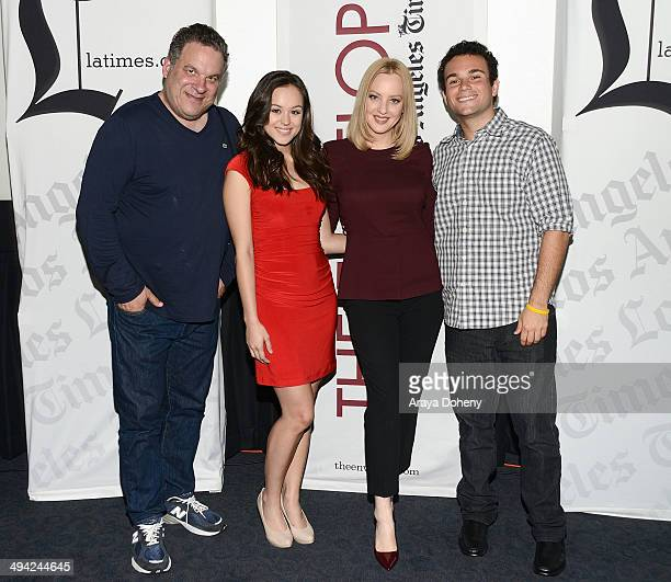 Jeff Garlin Hayley Orrantia Wendi McLendonCovey and Troy Gentile attend the Los Angeles Times' The Envelope Screening Series Presents 'The Goldbergs'...
