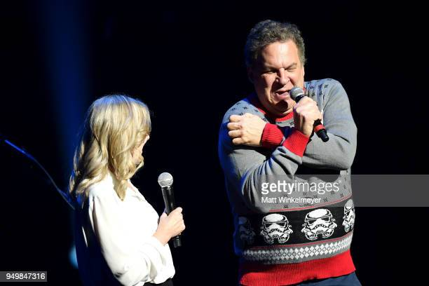 Jeff Garlin speaks onstage during the 5th Annual Light Up the Blues Concert an Evening of Music to Benefit Autism Speaks at Dolby Theatre on April 21...