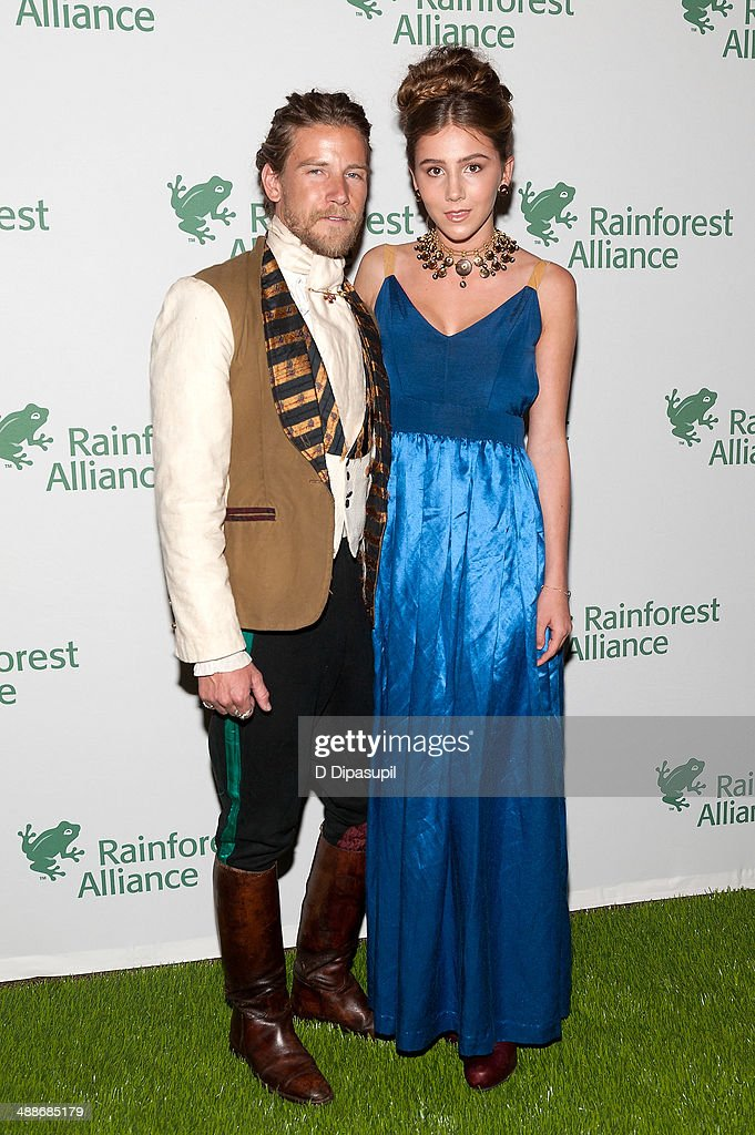 Jeff Garner (L) and Heather Blaire attend the 2014 Rainforest Alliance Gala at the American Museum of Natural History on May 7, 2014 in New York City.