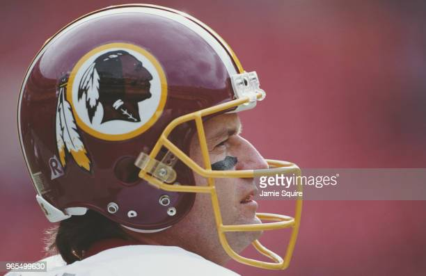 Jeff George Quarterback for the Washington Redskins during the National Football Conference East game against the New York Giants on 3 December 2000...
