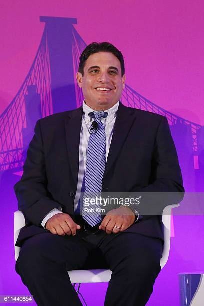 Jeff Giacchetti speaks onstage at the Getting Native Video Right A Brand Playbook panel on the ADARA Stage at Times Center Hall during 2016...