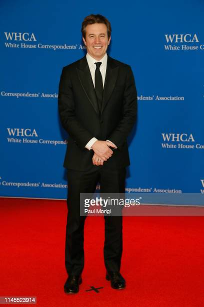 Jeff Glor attends the 2019 White House Correspondents' Association Dinner at Washington Hilton on April 27 2019 in Washington DC