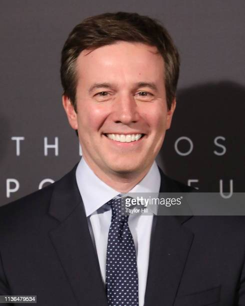 Jeff Glor attends The Hollywood Reporter's 9th Annual Most Powerful People In Media at The Pool on April 11 2019 in New York City